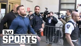 Conor McGregor is a Free Man, Posts Bail After Court Hearing | TMZ Sports