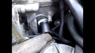 BMW E34 M50 проблема с датчиком ДПРВ Siemens MS40