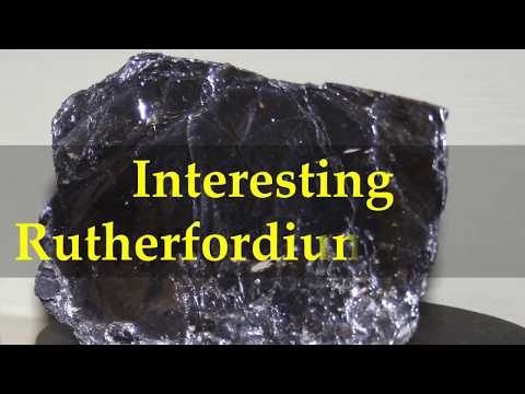 Interesting Rutherfordium Facts