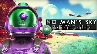 No Man's Sky Beyond PS4 Gameplay - Alien Taming & Alien Portal?!