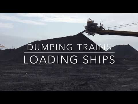 Dumping Trains & Loading Ships