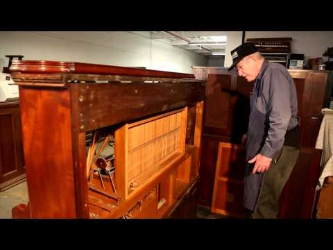 Aeolian Player Reed Organ Mechanics