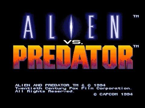 Alien vs. Predator - Arcade - Playthrough - Predator Warrior