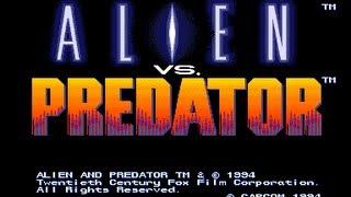 Alien vs. Predator - Arcade Game - Playthrough - Predator Warrior
