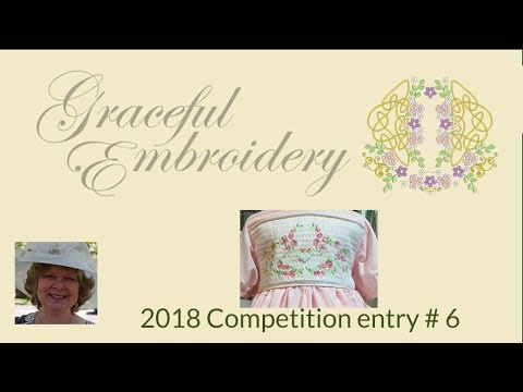 Graceful Embroidery 2018 competition entry 6