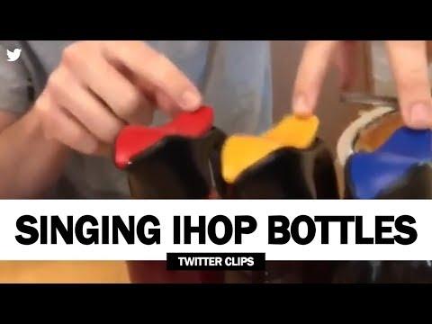 Craig Stevens - Singing IHOP Syrup Bottles