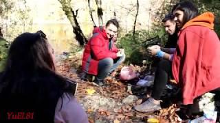 Shabrandakı Enbil golune seyahet - Ulvi ve dostları