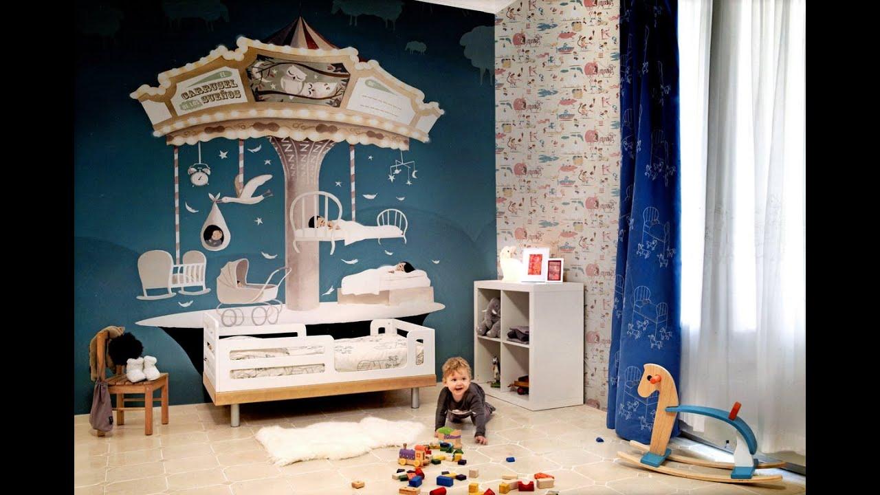 Babyzimmer wandgestaltung. roomtour babyzimmer.   youtube