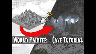 World Painter TUTORIAL - Create EPIC Minecraft Caves!