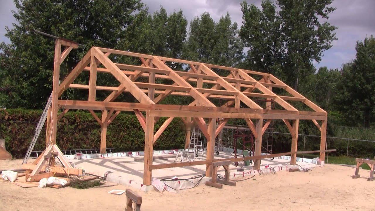 Hangar En Kit Bois l'gosseux d'bois ep 100 - la construction de l'atelier de a à z