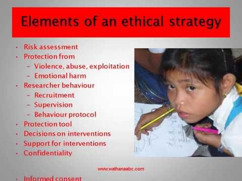 ethics in research with children