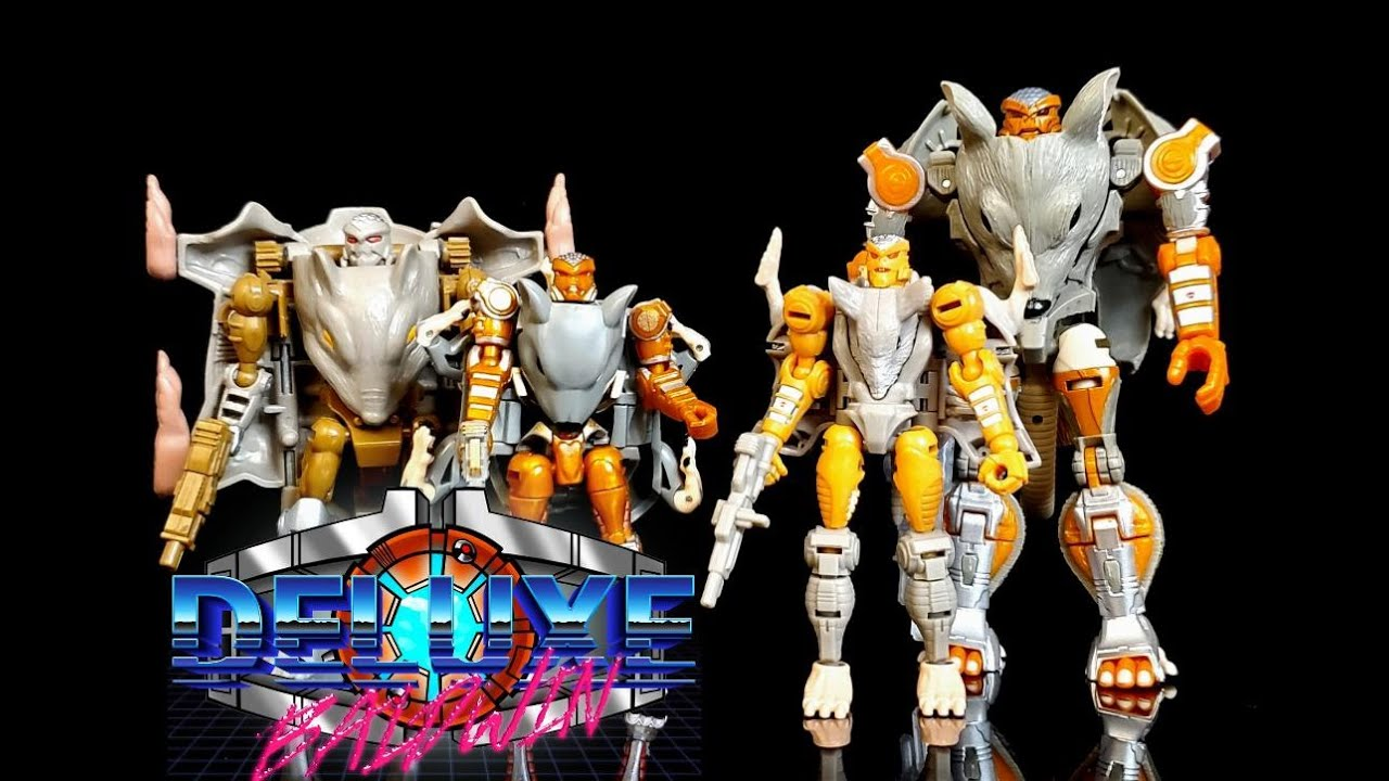 Transformers Rattrap - Beast Wars VS Generations VS Transform Element VS Kingdom by Deluxe Baldwin