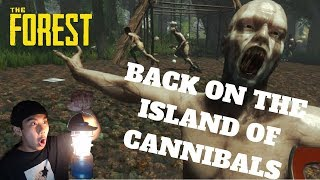 BACK ON THE ISLAND OF CANNIBALS - The Forest (PC) Live Stream and More