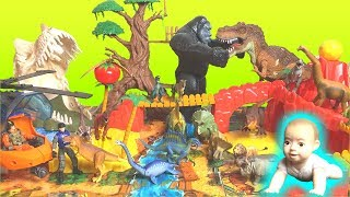 【Dinosaur Adventure Park】 Remember the baby you are besakened! Ania