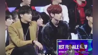 BTS & GOT7 & NCT reaction to Wong cho lam dance twice signal 😂❤️
