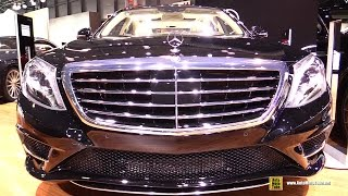 2015 Mercedes-Benz S550 4Matic - Exterior and Interior Walkaround - 2015 New York Auto Show