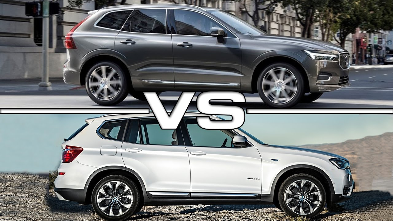 2017 Volvo Xc60 Vs 2016 Bmw X3 Youtube