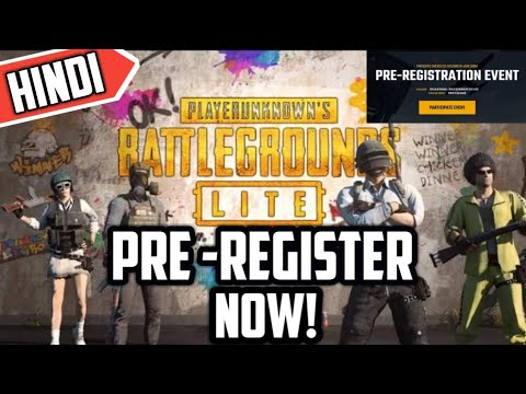 Pubg PC Lite Beta Pre-registration | Register Now & Get Free Skins | Hindi
