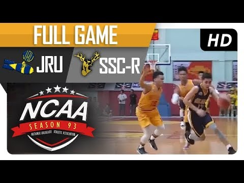 JRU Heavy Bombers vs. SSC-R Stags | NCAA 93 | MB Game Highlights | August 24, 2017
