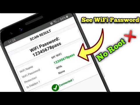 Download How to See your connected WiFi password in your phone
