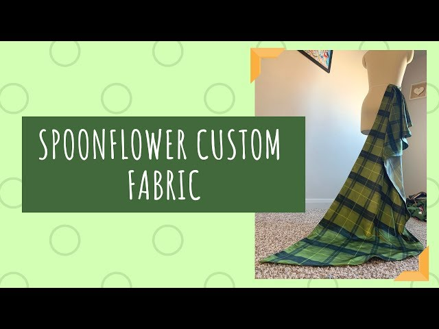 [Review] Spoonflower Custom Printed Fabric