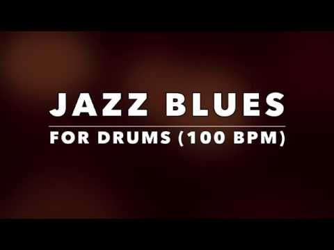 Jazz Blues Backing Track for Drummers (No Drums)