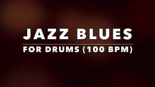 Jazz Blues Backing Track for Drummers No Drums
