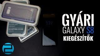 Gyári kiegészítők, tokok Samsung Galaxy S8-hoz