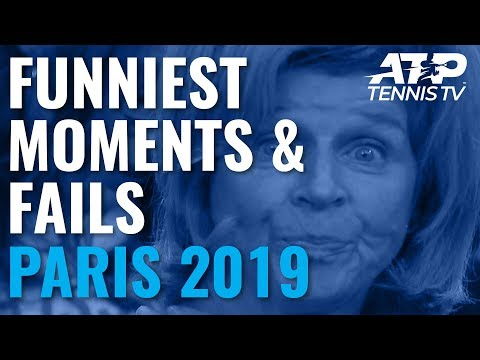 Funny ATP Tennis Moments And Fails 🤣| Paris 2019