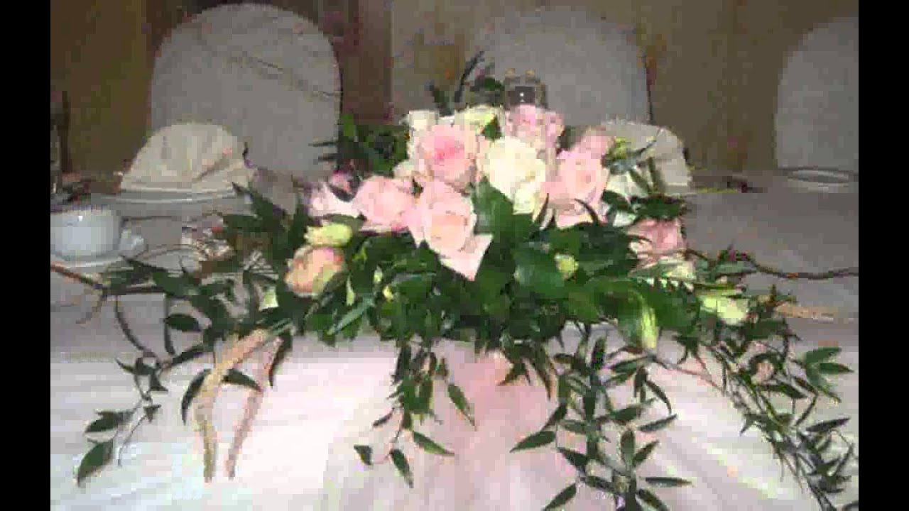 Head Table Floral Arrangements Design Pictures YouTube
