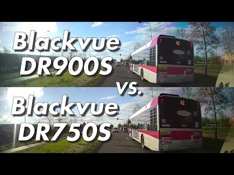 Blackvue DR900S 4K UHD Vs DR750S 1080p Day & Night Dashcam