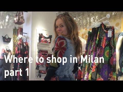 Shopping in Milan - where to shop in Milan - Corso Buenos Ai