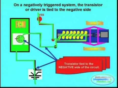 negative or positive trigger & wiring diagrams