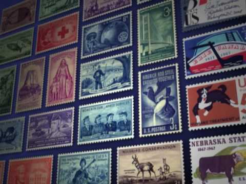 Wilson Hulme on American Stamps