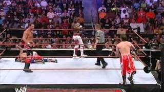 Paul London and Brian Kendrick vs WGTT - Raw, 18 June 2007