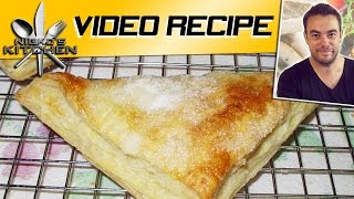 Easy Apple Turnover (4 Ingredients) - Video Recipe