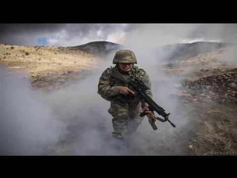 JÖH-PÖH  Afrin Operasyonu KlipKürşad'ın gür sesiyle indik Tanrı dağından indik Tanrı dağından