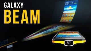 Samsung Galaxy Beam: smartphone độc đáo có luôn cả máy chiếu