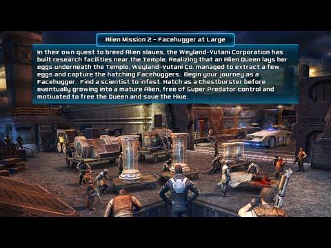 Alien Vs Predator Evolution Alien Mission 2 Facehugger At Large