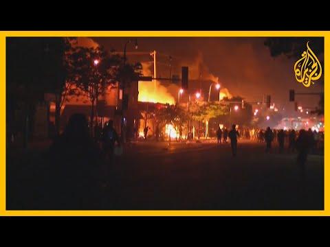 استمرار الاحتجاجات ضد مقتل أميركي أسود بيد الشرطة ????  - نشر قبل 5 ساعة
