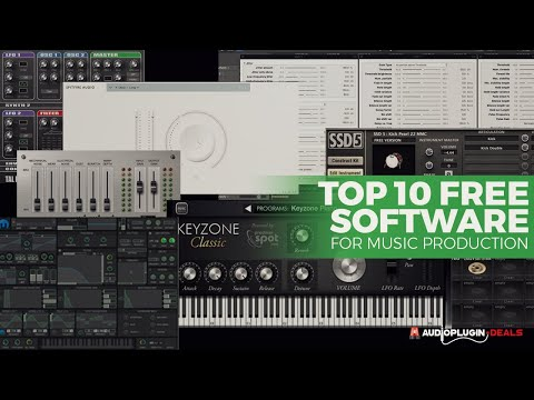 Top 10 Free Software For Music Production (2019)