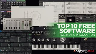 Download lagu Top 10 Free Software For Music Production (2019)