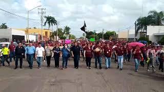 Se une STAUS a manifestación por un servicio del ISSSTESON digno