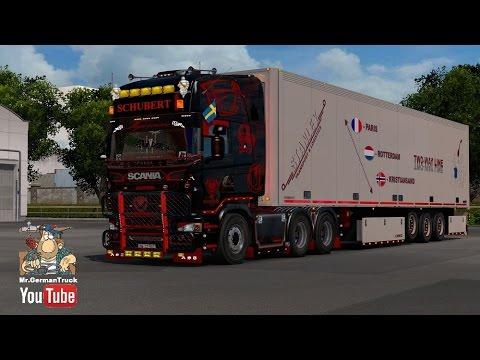 Ets2 Scania Andreas Schubert V2 2 Cabin Flag Dlc