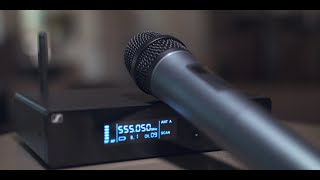 Sennheiser XS Wireless 2: XW2-835 vs XSW-835 - Microphone Demo & Comparison
