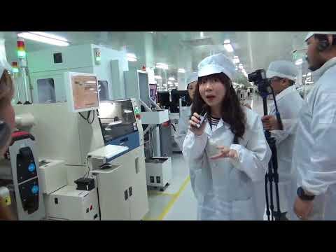 OPPO Factory Tour SMT Center