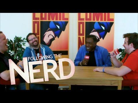 Ernie Hudson (Winston Zeddemore) Dublin Comic Con Interview | Votesaxon07