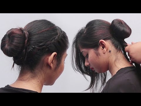 Easy Bun Hairstyles with Trick for Wedding/party | Latest Bun hairstyles | BABY Hairstyles