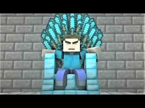 "Minecraft Song and Minecraft Animation ""Diamond King"" Minecraft Song by Minecraft Jams"