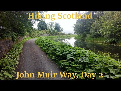 Hiking Scotland's John Muir Way, Day 2